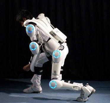 Bộ đồ khung robot cho công nhân điện hạt nhân