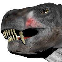Bò sát lớn như chó, có nọc độc trước khi rắn xuất hiện