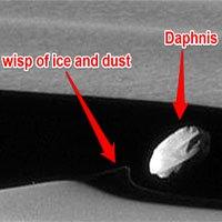 Bức ảnh cận cảnh đầu tiên một vệ tinh Sao Thổ