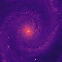 Bức ảnh thiên văn đầu tiên được chụp bằng thấu kính mới của công cụ quang phổ năng lượng tối