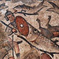 Bức tranh cá nuốt người trong giáo đường Do Thái thế kỷ 5