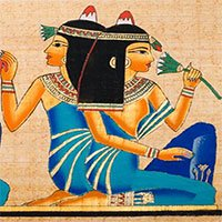 Các cách làm đẹp theo kiểu Ai Cập cổ