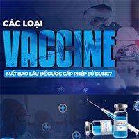 Các loại vaccine mất bao lâu để được cấp phép sử dụng?