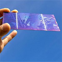 Các nhà khoa học đã tạo ra loại pin mặt trời kép như