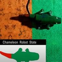 Các nhà khoa học tạo ra robot tắc kè hoa, đổi màu theo thời gian thực