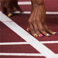 Các vận động viên Olympic thi nhau phá kỷ lục nhờ công nghệ đường chạy