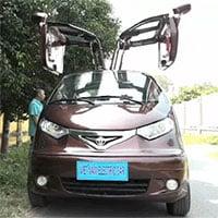 Cận cảnh ô tô điện đi 100km tốn 15.000 tiền điện của thợ Việt, được báo ngoại ca ngợi