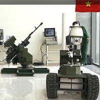 Cận cảnh robot chiến đấu tự hành