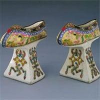 Cao từ 5-15cm, những đôi hài của phi tần nhà Thanh được dùng để làm gì?