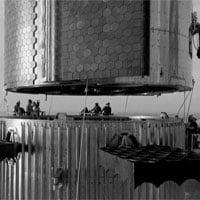Câu chuyện đằng sau bức ảnh đen trắng về phi thuyền của SpaceX
