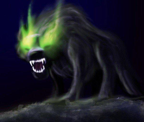 Câu chuyện về bóng ma chó đen ở Anh
