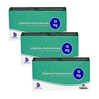 Cetirizin Hydroclorid - Tác dụng, liều dùng thuốc an toàn