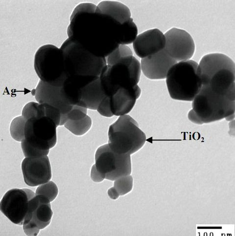 Chất diệt khuẩn mới từ bạc và titan