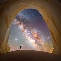 Chiêm ngưỡng loạt ảnh ấn tượng chụp dải Ngân Hà