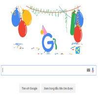 Chúc mừng sinh nhật lần thứ 18 của Google