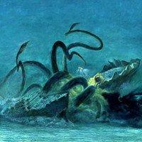 Chùm ảnh các loài thủy quái ghê rợn trong trí tưởng tượng con người
