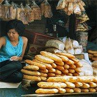 Chùm ảnh cực lý thú về bánh mì ở Sài Gòn xưa