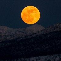 Chùm ảnh: Siêu trăng máu và trăng xanh khắp nơi trên thế giới