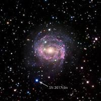 Chứng kiến vụ nổ siêu tân tinh tưởng như chỉ có trong phim khoa học viễn tưởng