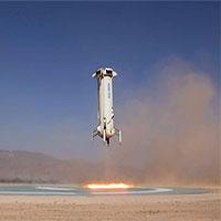 Chuyến bay thử nghiệm thành công thứ mười của Blue Origin