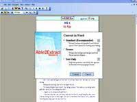 Chuyển đổi file PDF sang Word, Excel, HTML, Text