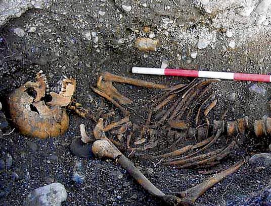 Chuyện kinh hoàng liên quan đến bộ xương 1000 năm
