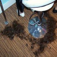 Có thể dùng tóc người để làm sạch dầu tràn?