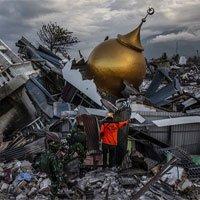 Còn 5.000 người mất tích sau động đất, sóng thần Indonesia