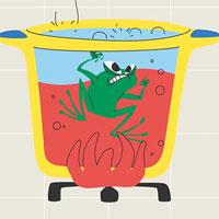 Con người đang bước dần tới hiệu ứng 'luộc ếch'