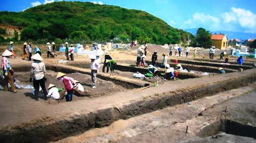 Công bố nhiều kết quả khai quật khảo cổ ở Khánh Hòa