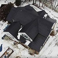 Công dụng giờ mới khám phá ra của mái lợp kết hợp pin mặt trời Tesla: Không đọng tuyết!