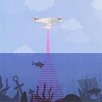 Công nghệ kết hợp âm thanh và ánh sáng để vẽ bản đồ đại dương