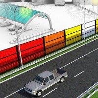 Công nghệ làm cao tốc vừa giảm tiếng ồn vừa tạo năng lượng sạch cho thành phố