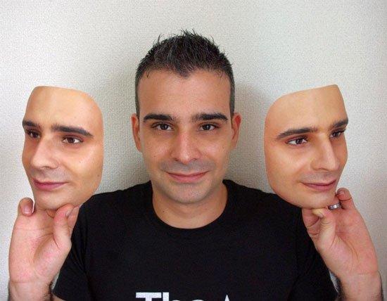 Công nghệ tạo mặt nạ y như thật