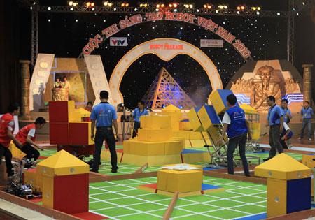 Đại học Lạc Hồng vô địch Robocon 2010