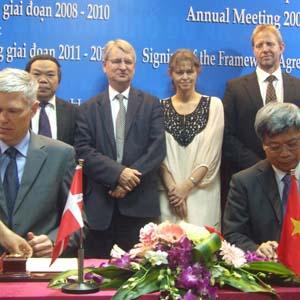 Đan Mạch giúp Việt Nam đối phó biến đổi khí hậu