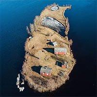 Đảo tí hon Kotisaari bốn mùa thay lá đẹp như trong cổ tích