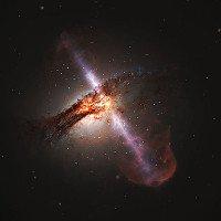 Đây mới là hình ảnh siêu thực của hố đen trong vũ trụ