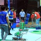 ĐH Lạc Hồng giữ chắc ngôi đầu Sáng tạo Robot