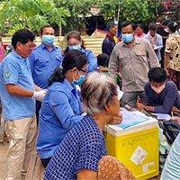 Dịch bệnh lạ ở Campuchia làm gần 100 người mắc khiến nhiều người hoảng sợ