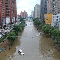 Điểm chung giữa mưa lũ kỷ lục ở Trung Quốc và châu Âu