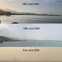 Điều gì gây ra cơn bão cát bụi khổng lồ