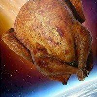 Điều gì sẽ xảy ra nếu một con gà lao thẳng vào Trái đất với tốc độ gần 300.000km/giây?