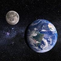 Điều gì xảy ra nếu khoảng cách giữa Trái đất và Mặt trăng giảm chỉ còn một nửa?