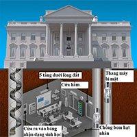 Điều ít ai biết về hầm ngầm trú ẩn của tổng thống Mỹ