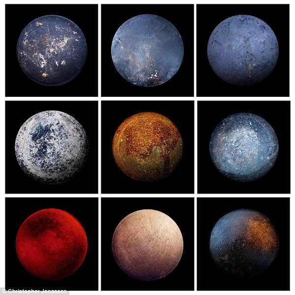 Đố vui: Tìm ra Mặt trăng đích thực giữa 8 chảo rán và 1 Mặt trăng