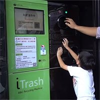 Độc đáo chiếc máy đổi rác thành tiền tại Đài Loan, Trung Quốc