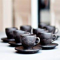 Độc đáo quy trình sản xuất tách uống cà phê từ chính… bã cà phê bỏ đi