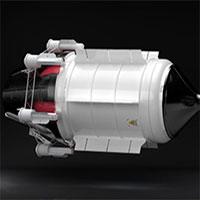 Động cơ hạt nhân giúp bay tới sao Hỏa trong 3 tháng