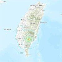 Động đất 5,6 độ làm rung chuyển đảo Đài Loan